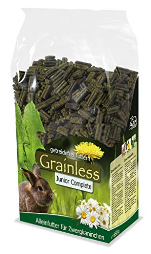 JR Farm Grainless Complete Junior Kaninchen 1kg