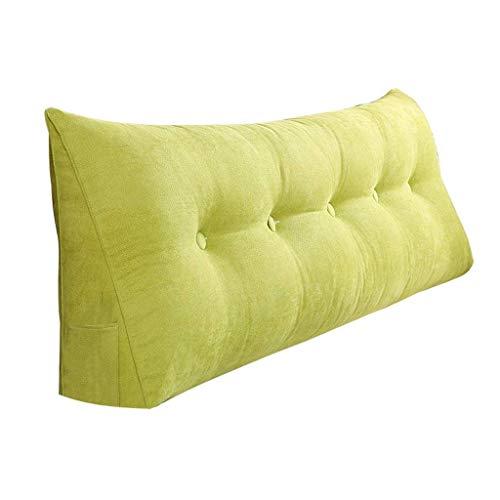 DX Dreieckiges Nachtkissen, breiter Rucksack mit doppelten flexiblen Beuteln, Kissengröße als Ausgleich für das Heimbüro, waschbar, 5 Farben, 7 Größen (Farbe: grün, Größe: 80 cm)