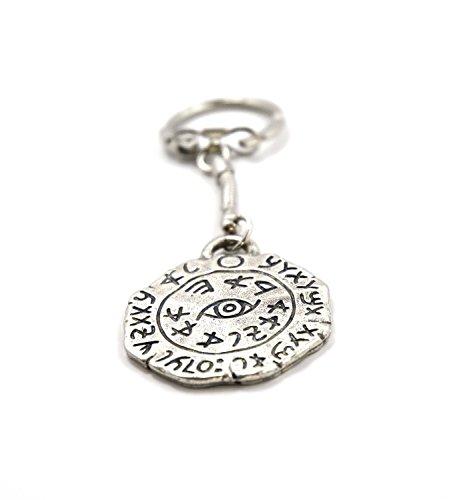 Rey Salomón Legend los amuletos rey Salomón seguro viaje amuleto llavero