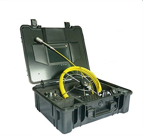 Gowe Dia. 29mm Niveauausgleichs Bild Unterwasser Inspektion Kamera Video Kamera mit 30m Glasfaser Kabel Sensor Größe: 1/10,2cm; horizontale Auflösung: 700TVL; Signal System: NTSC