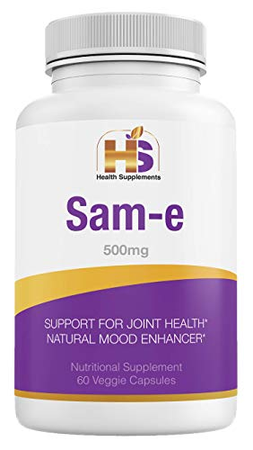 Health Supplements Sweden, Sam-e 500 mg, Promotes Positive Mood and Joint Comfort, Vegan, Gluten Free, Soy Free, 2 Months Supply