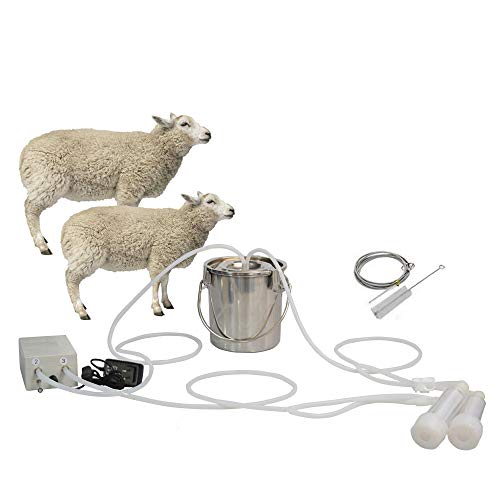 Transparent Milking Liners Goat Milking Unit 15x7.9in Size Cow Sheep Milker Accessories 【2021 New Years Special】Goat Milking Machine