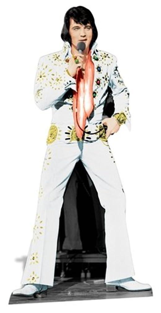 Elvis Presley Cardboard Cutout Life Size Standup White Jumpsuit SC573