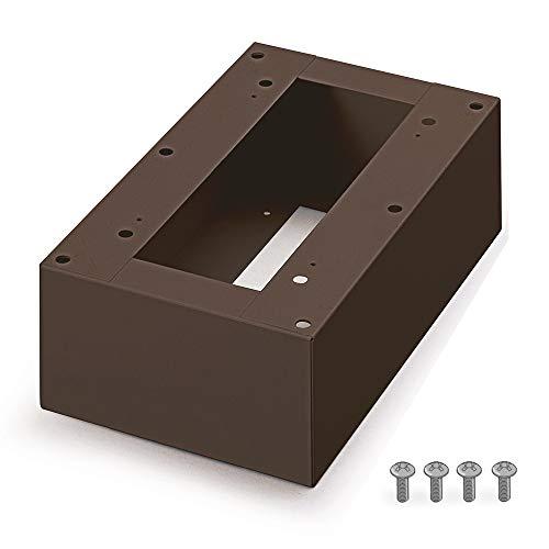 アイリスオーヤマ 宅配ボックス据置用台座 Sサイズ TBKD-S ブラウン