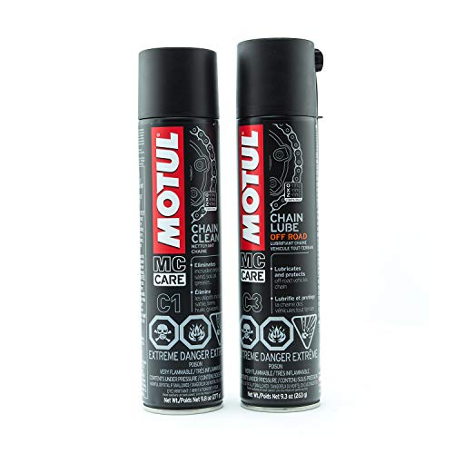 Motul 103243 C1 Chain Cleaner (Chain Cleaner Plus Chain Lube)