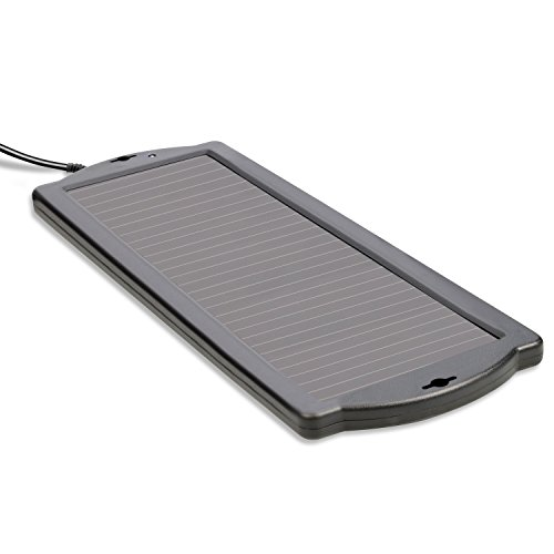 Cartrend 80500 1,5 Watt Solar onderhoudslader voor batterijen, 12 V