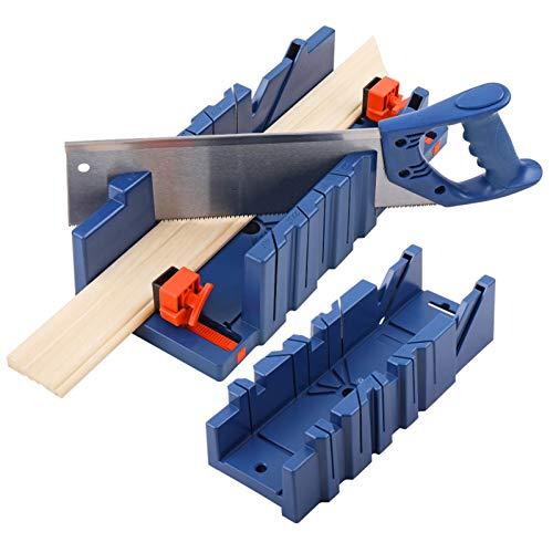 GGkeging De alta resistencia de la aleación de la mano vio la carpintería inglete vio DIY carpintería corte de 90 grados para carpinteros carpintero