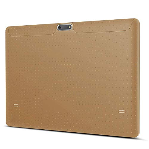 Tablet 10 Zoll Android 8.0, Padgene Android Tablet PC 10,1 Zoll Quad Core IPS HD Pad mit 2G RAM 32G Speicher Dual SIM Slots Dual Kamera WiFi/3G Entsperrt Bluetooth 4,0 GPS Telefonfunktion(Gold)
