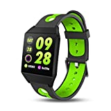 Leey Smartwatch Impermeabile IP68 Smart Watch Orologio Fitness Cardiofrequenzimetro da Polso Smart...