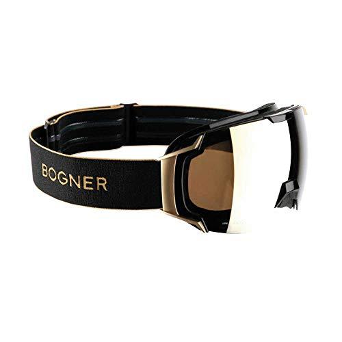 Bogner Skibrille Snow Googles Just B Gold Black
