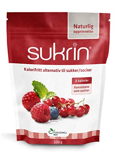 Sukrin 500 gram, natuurlijke suikervervanger met Erythritol