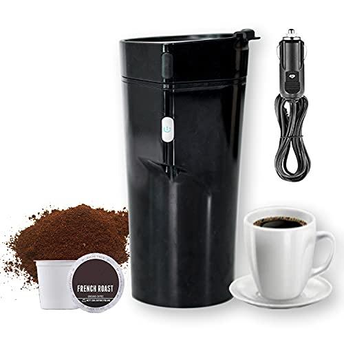 MobiBrewer 2.0, Portable Coffee Maker, Single Serve Coffee Maker, 12v Coffee Maker, K cup coffee maker, travel coffee maker, car coffee maker, small coffee maker