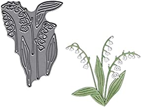 MeikoTan New 2019 Lily of Valley Metal Cutting Dies Stencil for DIY Scrapbooking Paper Cards Making Decorative Crafts Supplies 4.8cmx6.8cm