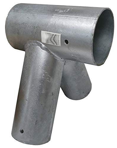 Gartenpirat Schaukelverbinder Metall für Rundholz 100/80 mm