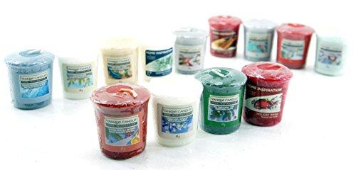 Yankee Candle 13 x Home Inspiration Official Merry Christmas Votive Sampler Candles Rare Festive Season Fragrances