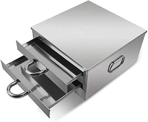 BWJL Haushaltsreisnudel-Rolls-Maschine, 2-Schicht-Edelstahl-Schubladen-Dampfer, der chinesische Lebensmittelwerkzeuge kocht, für Gemüse Meeresfrüchteknödel