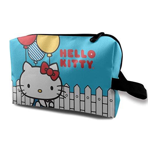 Trousse de Toilette Suspendue Hello Kitty Contient des Sacs de Rasage de Ballon pour Femmes Filles