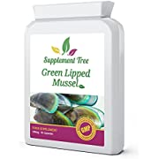 Green Lipped Mussel 500mg 90 Capsules | New Zealand Sourced High Quality Supplement | Pure Non-GMO, Additives Free, Without Any Fillers or Binders | UK Manufactured