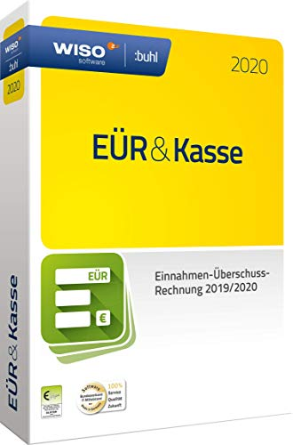 WISO EÜR & Kasse 2020: Für die Einnahmen-Überschuss-Rechnung 2019/2020 inkl. Gewerbe- und Umsatzsteuererklärung | PC