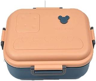 [YIMING] 学生用 癒し系 お弁当箱 軽量 漏れ防止 ポータブル サラリーマン 薄型 日式 簡約 かわいい ランチボックス ふんわり盛れる (#03)