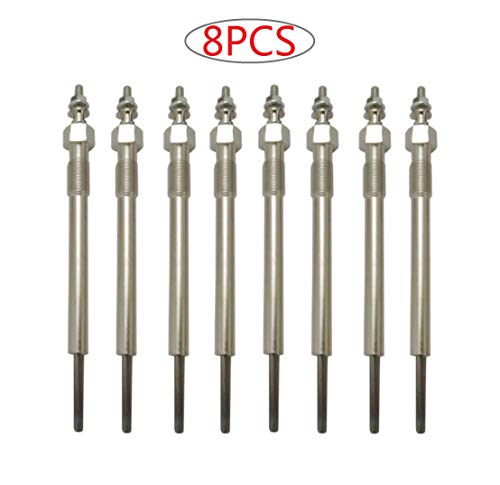 8pcs Diesel Glow Plug for Chevy GMC 6.6L Duramax LB7 & Early Build LLY...