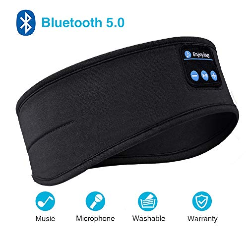 Sleep Headphones, Bluetooth Sleep Headphones,Headband Headphones with Built -in Speakers, Sports...