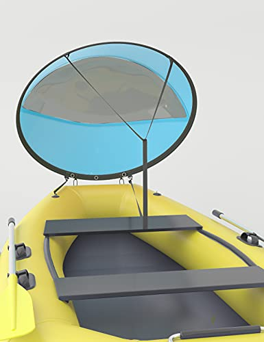 Meteou Kayak Wind Sail Kit Kayak Paddle Board Accessories, Foldable 42' Anti-UV...