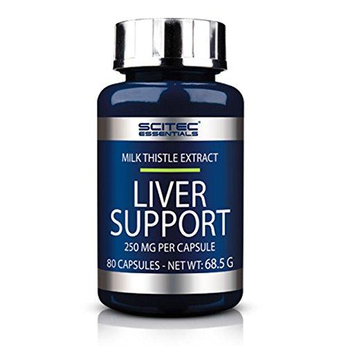 SCITEC Essentials Liver Support - 80 Capsulas