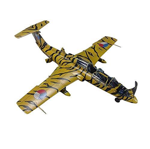 JHSHENGSHI Fighter Puzzle Plastic Model Kits, L-29 Delfin Trainer Modell im Maßstab 1:72, Spielzeug und Geschenk für Erwachsene, 5,9 x 5,6 Zoll