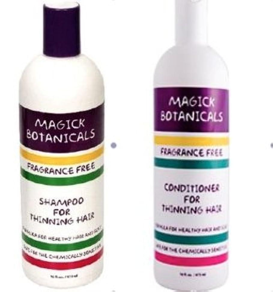 Magick Botanicals Shampoo & Conditioner Set for Thinning Hair