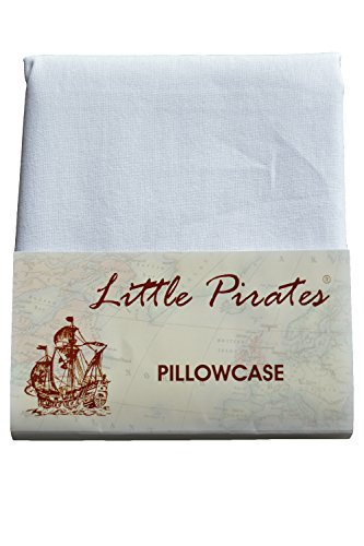 Brand New Baby Cot Bed Pillow Case 60 x 40 - 100% Cotton - White