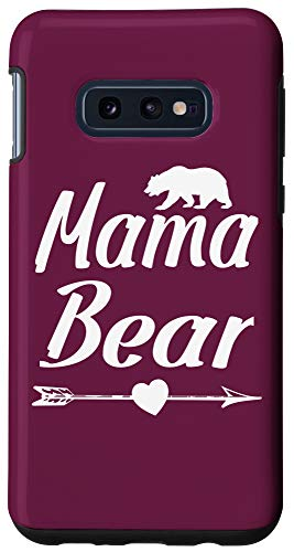 Galaxy S10e Mama Bear Gift Mom Mother Grandmother From Kids Grandkids Case