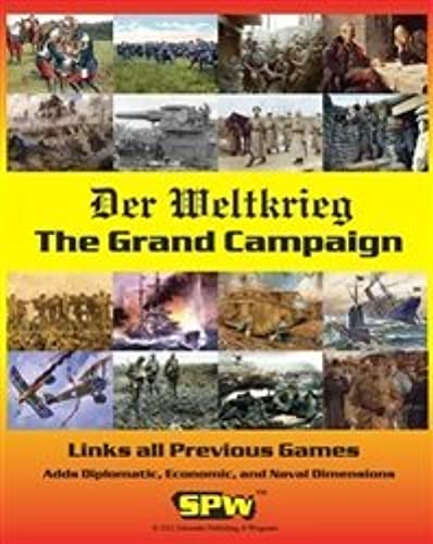 barato SPW  The Grand Campaign Campaign Campaign Kit to Link the 5 games in the Der Weltkrieg Game Series by SPW Schroeder Publishing & Wargames  grandes precios de descuento