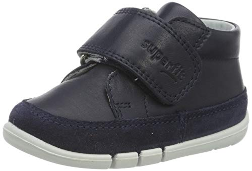Superfit Jungen Flexy Sneaker, Blau (Blau 80), 21 EU