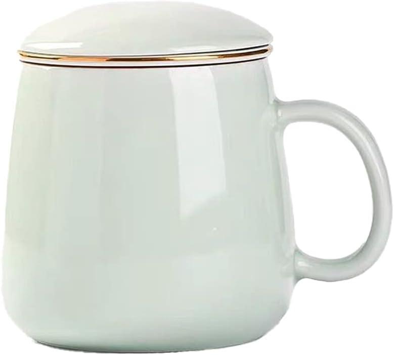 YHD Ceramic Tea Cup Filter Ranking TOP4 Simple Teacup Coff Drinkware Popular brand