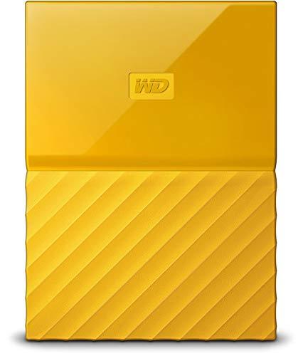 WD 3TB Yellow USB 3.0 My Passport Portable External Hard Drive (WDBYFT0030BYL-WESN)