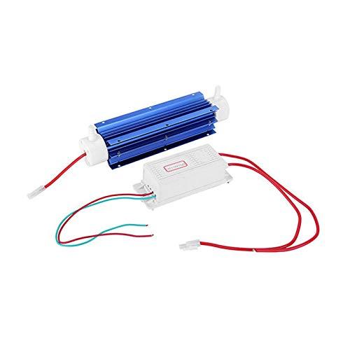 TOOGOO Generador de Ozono 10G Ozonizador Ionizador Tubo Purificador de Aire Tubo de Cuarzo + Fuente de AlimentacióN