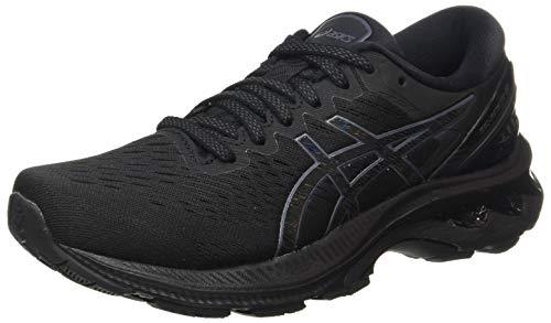 ASICS Womens Gel-Kayano 27 Running Shoe, Schwarz, 40.5 EU