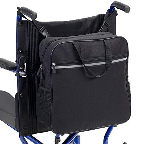 GzxLaY Im Freien beweglichen Deluxe Rollstuhl-Bag, Mobility Aid Scooter Rucksack für Senioren, Senioren, Behinderte -Stellen Sie Ihre Hände frei