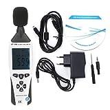Probador de sonido, medidor de nivel de sonido digital LCD ET-958, detector de ruido portátil de mano, instrumento de medición de decibelios, 30-130dB,...