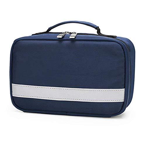 Candyana Draagbare, waterdichte EHBO-tas van Oxford-stof, kleine lichte EHBO-tas voor thuis, community, reizen, camping, wandelen en outdoor-sporten