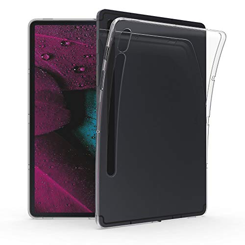 kwmobile Schutzhülle kompatibel mit Samsung Galaxy Tab S7 - Hülle - Silikon Tablet Cover Case Transparent