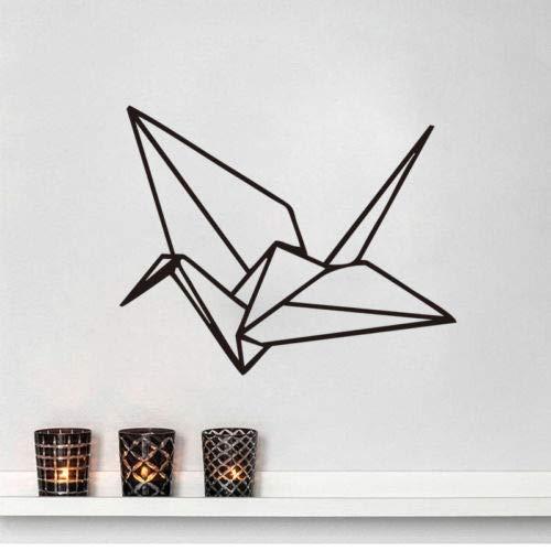 Yaonuli Origami geometrische muur Decal Home Decor slaapkamer vinyl zelfklevend