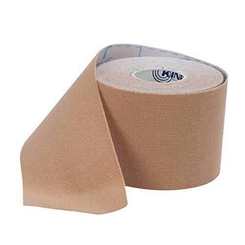 ZYCX123 Kinesiologie-Tape-hoch elastische Sport-Tape Selbstklebende Bandage Cotton Muskel-Klebeband für Muskeln, Shin Splints