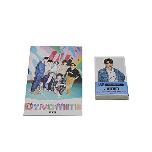 BTS Kpop Lot de 59 cartes photos de Ji Min du groupe BTS K-pop