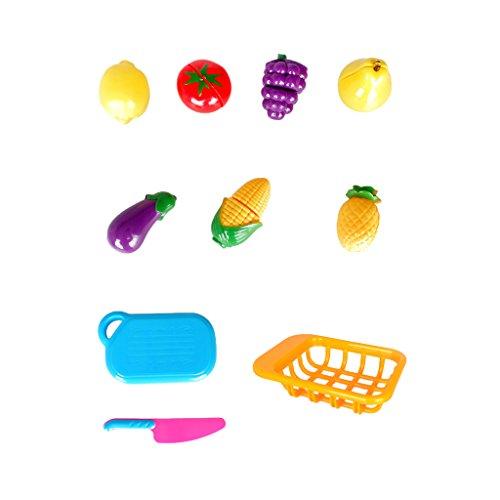 7pcs Cuisine Fruit Mélangé Coupe-légumes Alimentaires Jouet Rôle Educatif Enfant Cadeau