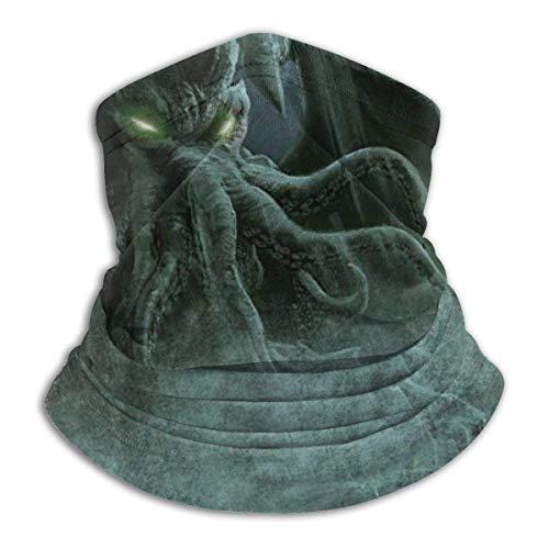 N/W Cthulhu Monster Fantasy Art - Pasamontañas unisex para el cuello, pasamontañas, máscara de esquí para clima frío, máscara de invierno, sombreros para hombre y mujer