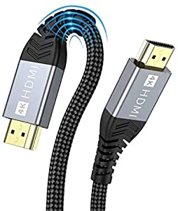[4K 5M hdmi kabel] Innovative Verbesserung 4K HDMI-Kabel, gebaut mit vergoldeten Anschlüssen und erstklassigen amerikanischen Chips, um eine schnelle und fehlerfreie Signalübertragung zu gewährleisten. Die 4K * 2K Ultra HD-Technologie mit einer Auflö...