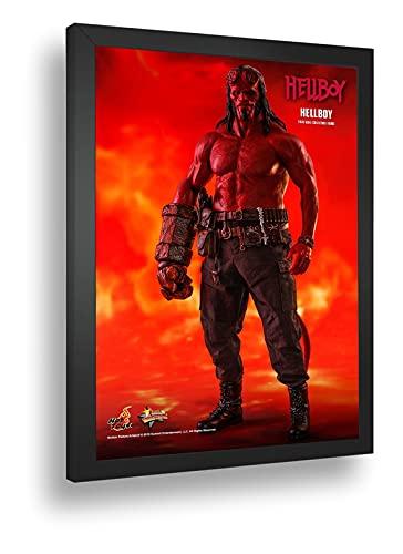 Quadro Decorativo Poste Hellboy Garoto Do Inferno Classico
