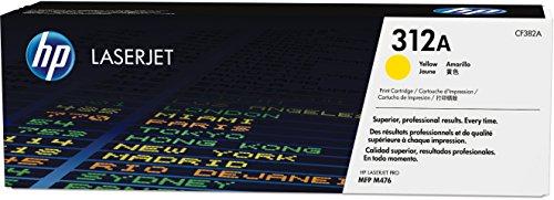 HP 312A (CF382A) Gelb Original Toner für HP Color Laserjet Pro MFP M476dn, M476dw. M476nw